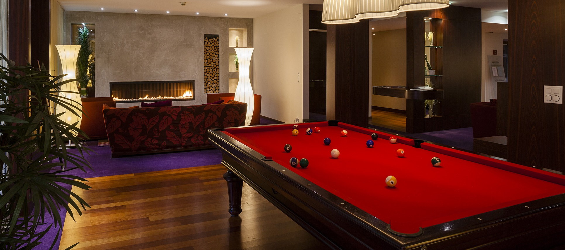 Billiards for those who are game