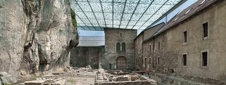 Die Abtei Saint-Maurice