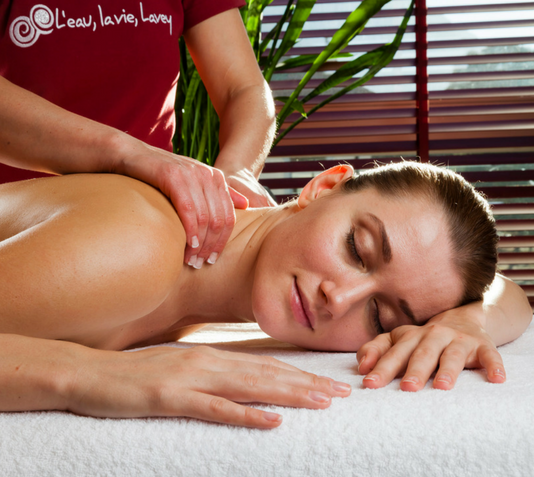 Relax with a massage in our Wellness Center ...