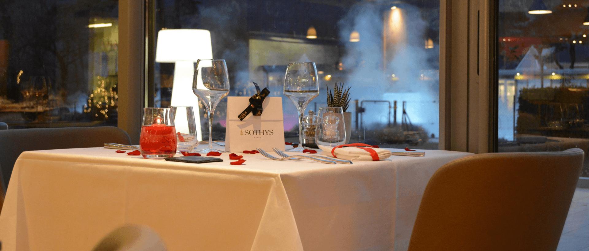 Buffet spécial Saint-Valentin
