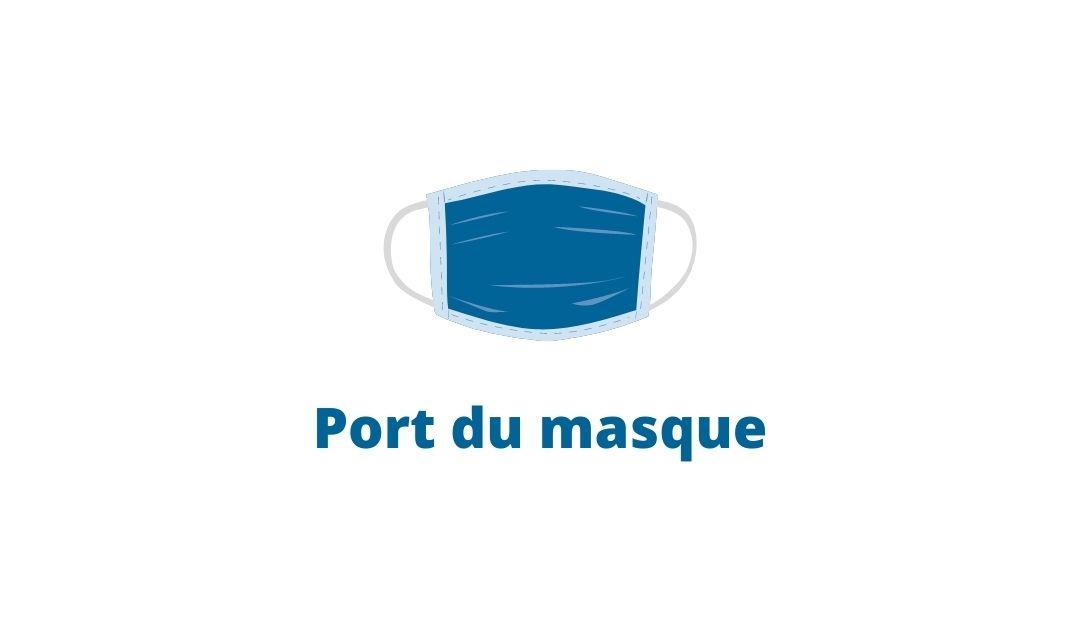 Port du masque