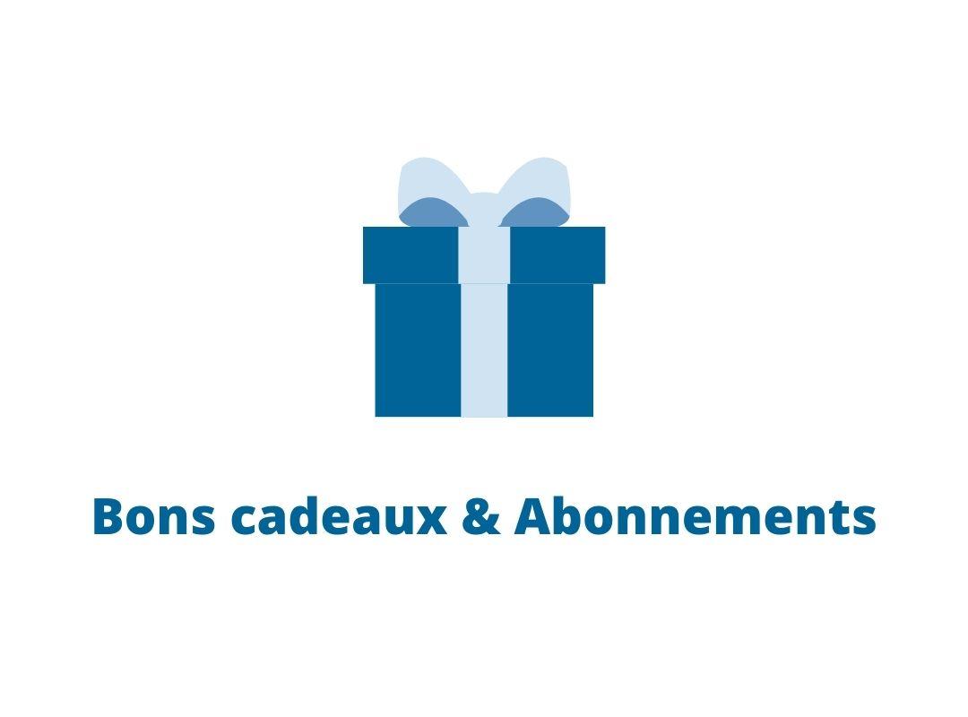 Validité des bons cadeaux & abonnements
